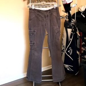 Abercrombie and Fitch size 2 brown pants